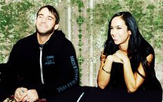 AJ Lee and CM Punk. To cute couple in WWE