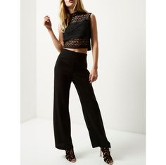 Let your legs do the walking and talking with our new season collection of women's trousers. Wide Leg Trousers, Trousers Women, Topshop, Jumpsuit, Leggings, Legs, Model, Pants, Collection