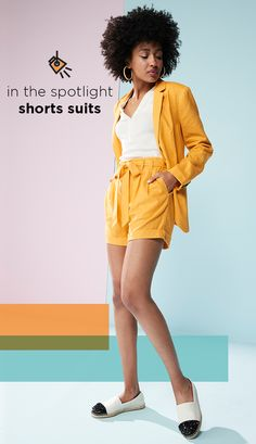 6e6ad47bce86b2 IN THE SPOTLIGHT. Find new shorts and blazer sets at Kohl's. Give your  office
