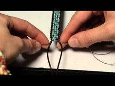 Tricks to Looming and Bead Weaving - YouTube