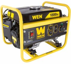 Portable Generator For Camping Electric Home Use Gas RV Travel 1800 Watt Outage