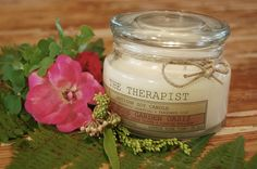No. 07 Rose Garden Oasis: a superb blend of fresh rose essence, moss, green clover & a comforting essential oil of Spanish Marjoram. This sacred blend will not disappoint any romantic floral lover.   thetherapistcandles.com