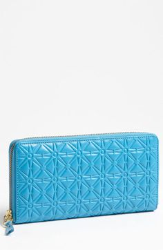 Comme des Garçons Embossed Continental Wallet available at #Nordstrom