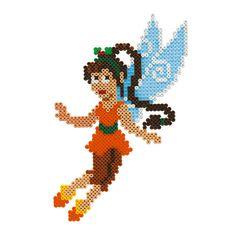 Fawn Tinker Bell Hama Perler beads