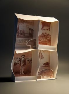 Graciela Olio Ceramics: Proyecto Sur, Serie Home (Project South, Home Series), 2011, Porcelain sheet (Keraflex) print with laser decal on raw sheet before handbuilding, all 30x20x0,8 cm.
