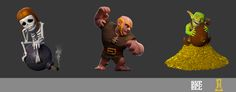 Action poses, © Supercell  #ClashofClans #CoC #Clash