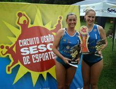 Rádio Web Mix Esporte&Som: Sequência de vitórias no vôlei de areia de Adriana...