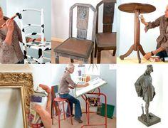 Rénover les objets et meubles chinés