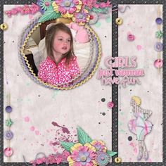 Wanna Have Fun by Arizona Girl is a delightful kit for girls night out layouts. .Contains 11 papers (8 patterned  papers, 3 solid papers) and 31 png elements.  This is my grand daughter Savannah  http://www.godigitalscrapbooking.com/shop/index.php?main_page=product_dnld_info&cPath=29_264&products_id=27269