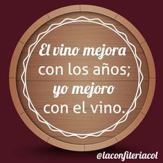 Mejora tu lunes con una copa de vino. #lunes  #vino #winetime #fortaleciendolazos #regalosdiferentes #detallesempresariales #regaloscolombia Decorative Plates, Instagram, Frases, Wine Goblets, Mondays, Presents
