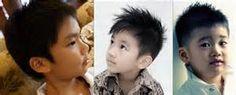 gaya Model rambut anak laki-laki