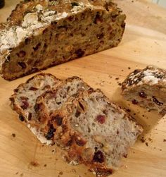 A Cheese-Worthy Recipe: Date and Cherry Nut Bread — The Cheesemonger Croissants, Fruit Bread, Cherry Bread, Types Of Cheese, Yeast Bread, Dried Fruit, Dried Cherries, Best Fruits, Bread Rolls