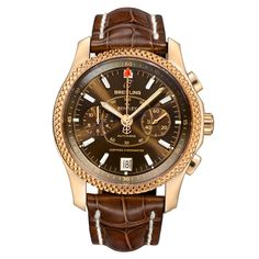 Pre-Owned Breitling Mark VI Limited Edition Chronograph Automatic Rose Gold