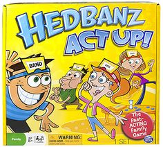 "Hedbanz Act Up - Spin Master - Toys ""R"" Us"