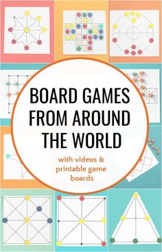Great traditional games from around the world to teach thinking skills. Abstract strategy games are fun to play over and over. Detailed instructions, videos and many printable game boards. Math Games, Math Activities, Fun Games, Games To Play, Class Games, Dice Games, Indoor Activities, Family Games For Kids, Family Game Night