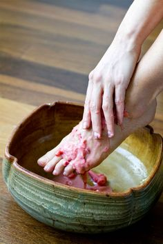 A DIY pedicure you can do at home
