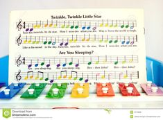 Image result for 1985 Tap-A-Tune color sheet music