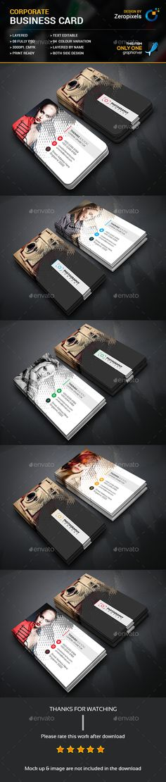 Rain Photography Business Card Template PSD. Download here: https://graphicriver.net/item/rain-photography-business-card/17627888?ref=ksioks
