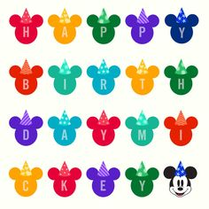 Happy birthday to the mouse with the most, Mickey! Happy Birthday Mickey Mouse, Mickey Mouse And Friends, Mickey Mouse Clubhouse, Minnie Mouse, Disney Love, Disney Magic, Disney Mickey, Disney Stuff, Disney Ideas