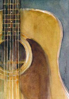 I love this guitar as art! Inspiring!