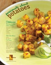 Sikkimese Tumeric and Ginger Idaho® Potatoes #VikasKhanna