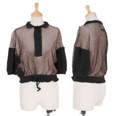 Jean Paul Gaultier Maille Femme Mesh Pullover Size S K 26475 | eBay 350$