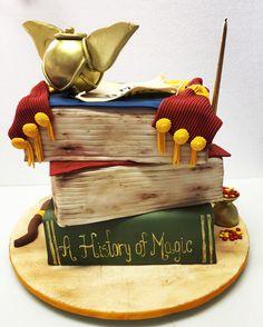 Verso do Bolo Harry Potter !