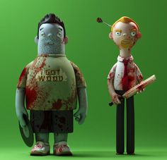 Three Flavors Cornetto Trilogy Figurines Are Off the Effin' Chain — GeekTyrant