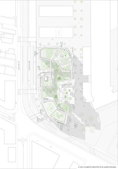 Image 19 of 22 from gallery of Sou Fujimoto and Laisné Roussel Propose Wooden Mixed-Use Tower for Bordeaux. Architecture Portfolio, Architecture Drawings, Architecture Plan, Masterplan Architecture, Architecture Diagrams, Sou Fujimoto, Plan Maestro, Diagram Design, Architectural Section
