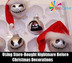 2 Nightmare Before Christmas Decorations