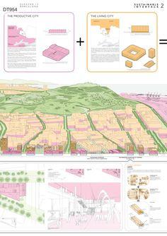 "BARCELONA, España. RUNNER-UP: ""Sustainable Interface"". AUTORES: Eduard Balcells, Honorata Grzesikowska. (Europan 13)"