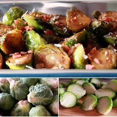 Thanksgiving 2013 Brussel Sprouts with a Balsamic Reduction