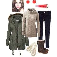"""""""Snow Day Frolic"""" by PreppyMinusThePearls on Polyvore"""