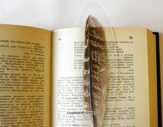 Handmade bookmark with real Jay feather in laminate.  My own idea.  Other nature inspired bookmarks: http://etsy.me/2ec81jU  ******* All creations are made by me personally... ➡️ http://jto.li/TRFSs