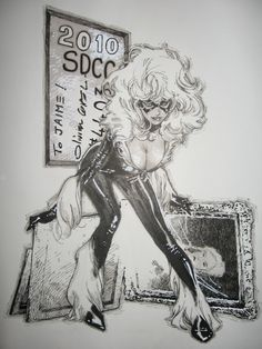 Black Cat by Olivier Coipel Auction your comics on http://www.comicbazaar.co.uk