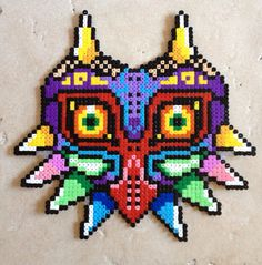 Legend of Zelda Majoras Mask Sprite por BadgerCreations en Etsy, $45.00