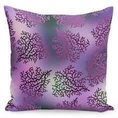Dekoračná obliečka na vankúše vo fialovej farbe s ornamentom Tapestry, Throw Pillows, Home Decor, Hanging Tapestry, Tapestries, Toss Pillows, Decoration Home, Cushions, Room Decor