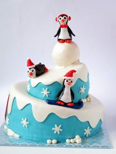 Ça, c'est tout un gâteau! / What an awesome cake!
