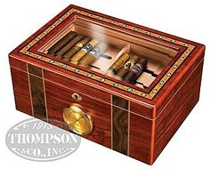 Humidor for your lady's cigar collection :D