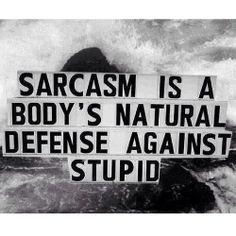 sarcasm   via Tumblr