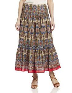 Jones New York Women's Pleated Maxi Skirt, Oasis Blue Multi, 14 Jones New York. $89.00