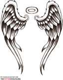 Image detail for -Tattoos   Angel Wings, Guardian Angel and St Michael Tattoo ...