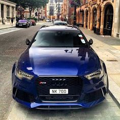 Deep blue ocean #Audi #RS6 oooo @onlyvossen oooo are you #audidriven? - for…