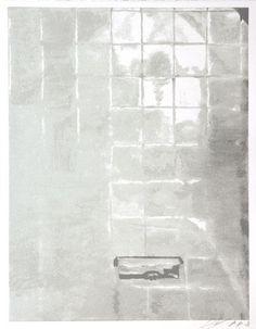 Luc Tuymans, Tiles, 2005, oil on canvas, 48.03 x 35.03 cm
