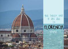 ¿Que hacer uno o dos dias en Florencia? Hemos preparado un itinerario perfecto ara aprovechar al máximo de tu viaje, con consejos y curiosidades...
