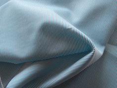 65 Inch Wide Yarn Dyed SEAFOAM GREEN  WHITE Corded by libbysfabric