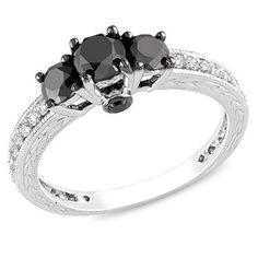 So unique and different, love black diamonds.