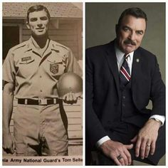 Fan Tom Selleck United States Army Air Forces Best known for his private investigator role in television series Magnum P., Tom Selleck was once part of the Infantry Regiment of the California Army National Guard- where he served as a soldier. Military Veterans, Military Men, Military History, Military Service, Famous Men, Famous Faces, Famous People, Hollywood Stars, Classic Hollywood