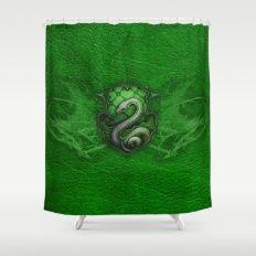 Slytherin Shower Curtain