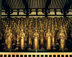 """See 1624 photos from 11552 visitors about kannon, temple in kyoto, and architecture. """"The 1001 statues of Kannon are impressive. Japanese History, Japanese Culture, National Art Museum, Japanese Temple, Cloud City, World Religions, Japanese Architecture, Guanyin, Buddhist Art"""